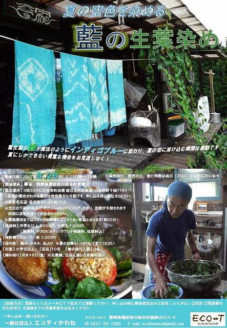 s-0826藍の生葉染め