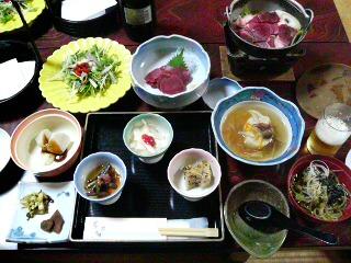 0507求夢荘の夕飯