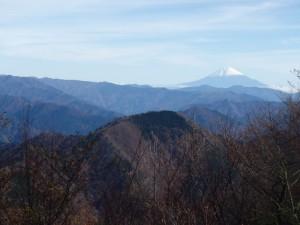 s_天水からの沢口山と富士