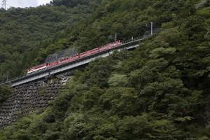 s日本で唯一のアプト式列車