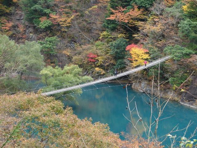 s夢の吊橋(寸又峡)紅葉