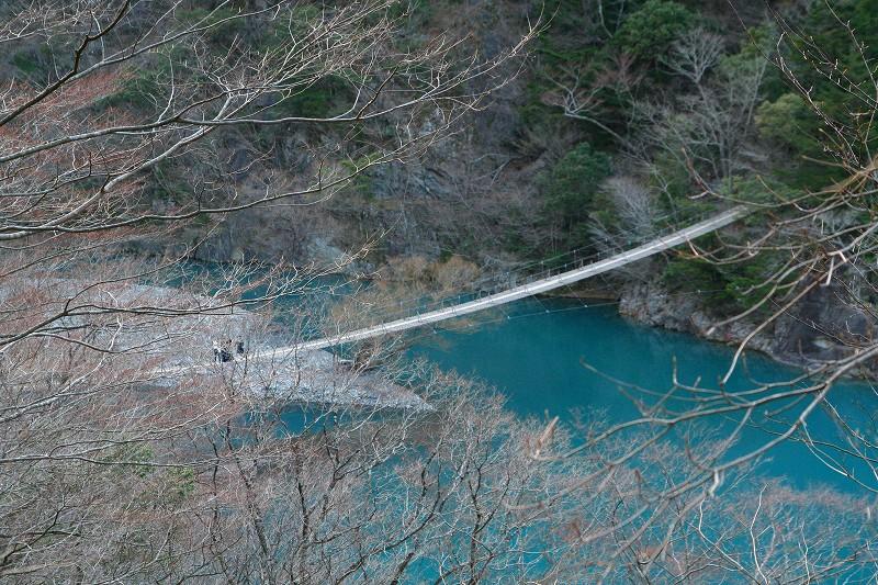 s寸又峡・夢の吊橋